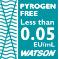 Pyrogen free